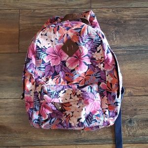 Aeropostale floral tropical print backpack